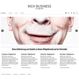 Deutsches WordPress Buisness Theme