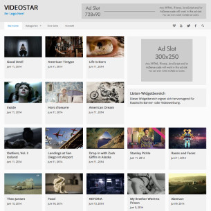 WP Video Theme - VideoStar Deutsch