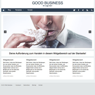 Deutsches WordPress Business Theme